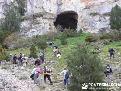 Cueva Negra - Senderismo Cañón del Río Lobos - gente viajera; viajes rutas; grupo senderismo madr
